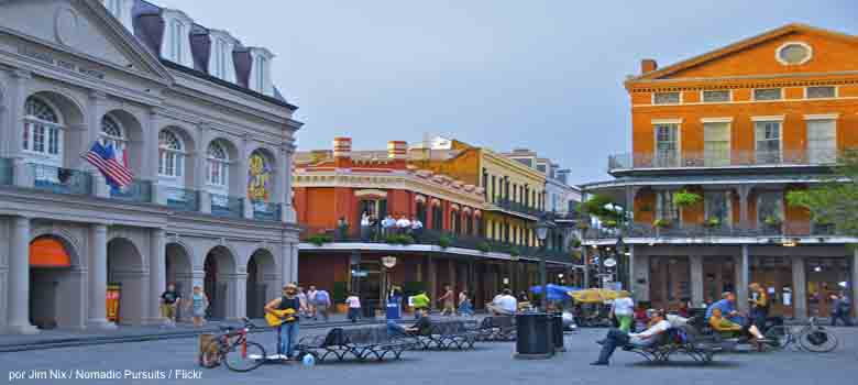 International moving New Orleans, mudanzas internacionales a New Orleans