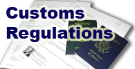 Household goods customs regulations Mexico assistance