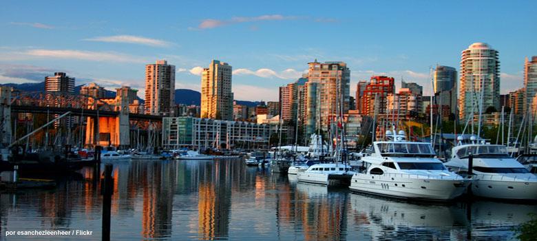 Mudanzas internacionales Vancouver Canadá